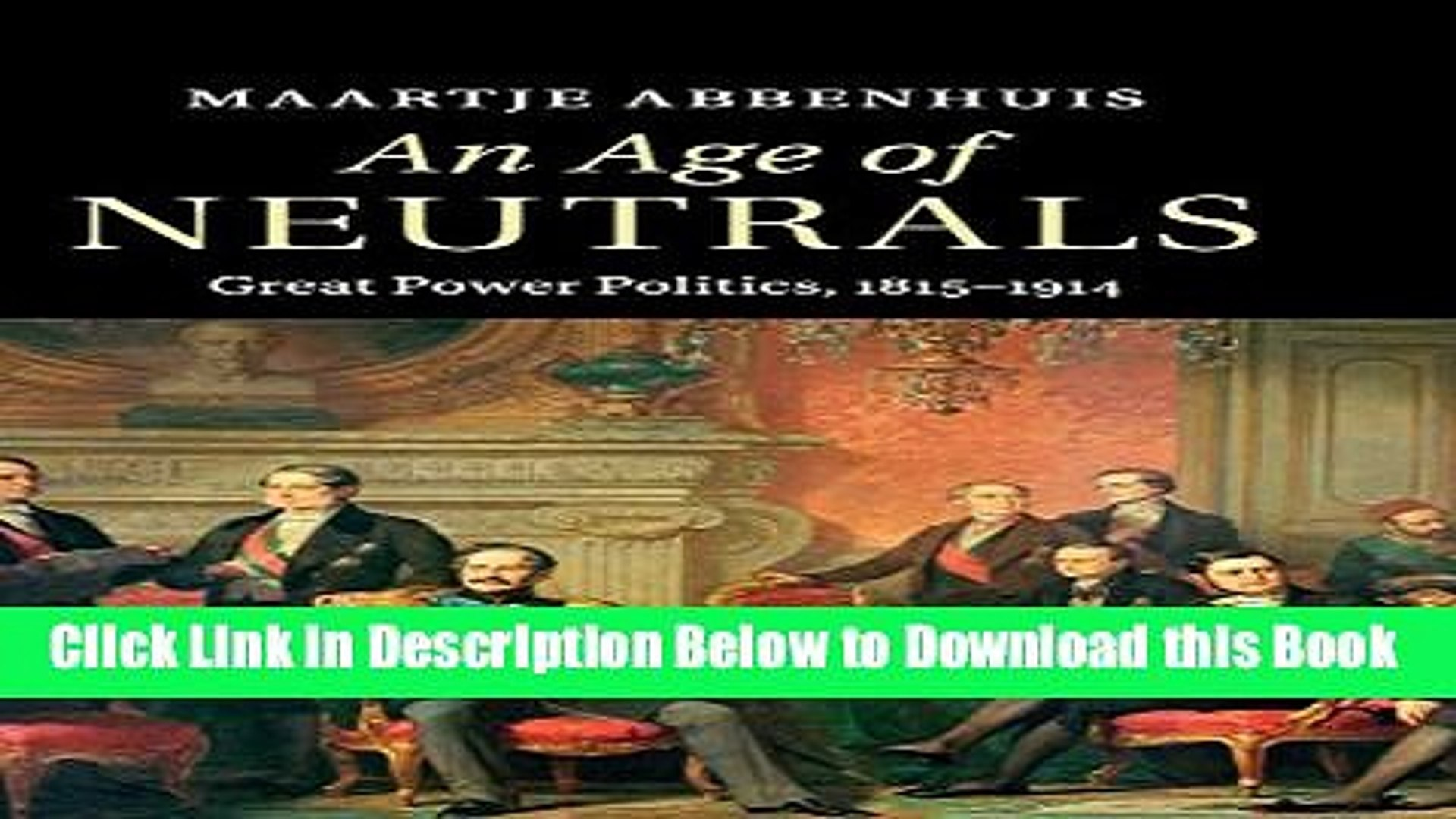 [Reads] An Age of Neutrals: Great Power Politics, 1815-1914 Free Books