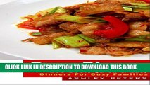 [PDF] Dump Dinners: Pork, One Pot,  Quick    Easy Dinners (One Pan, Make Ahead Meals, Dump Dinner