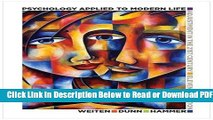 [Get] Psychology Applied to Modern Life: Adjustment in the 21st Century Free New