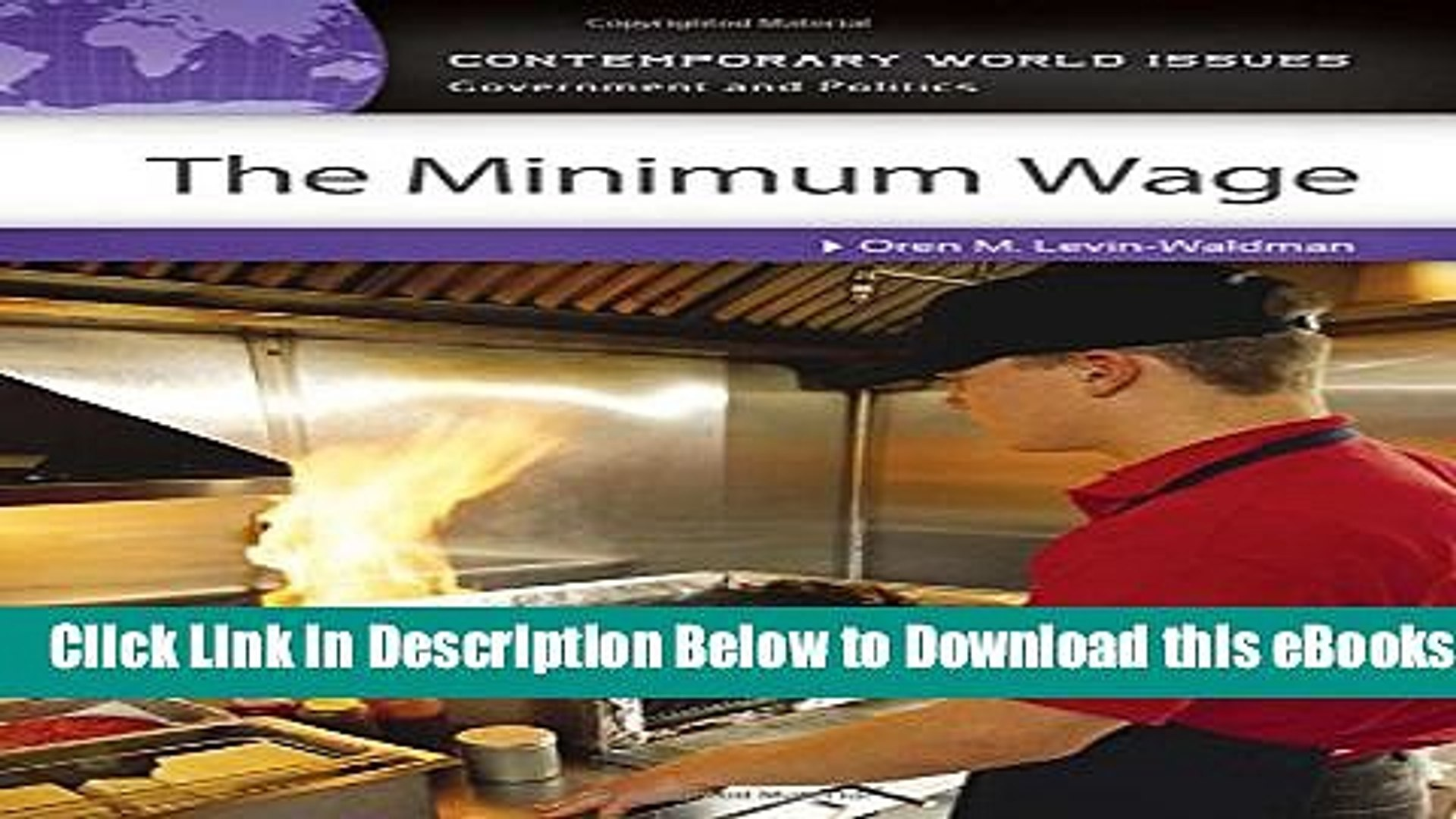 [Reads] The Minimum Wage: A Reference Handbook (Contemporary World Issues) Online Ebook