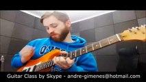 Improvisação na Guitarra - Rock - Funk - Fusion - Aulas em Santo André e via Skype