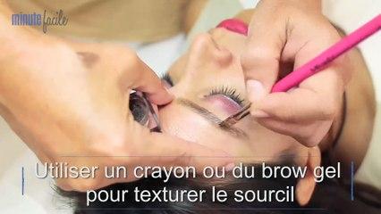 Beauté mode : Maquillage des sourcils : le Brow effect 3D