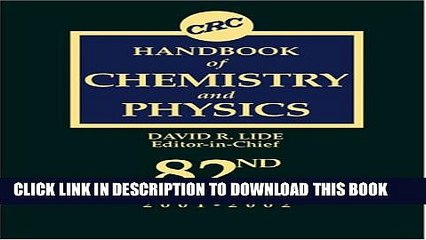 CRC Handbook of Chemistry and Physics Resource | Learn About