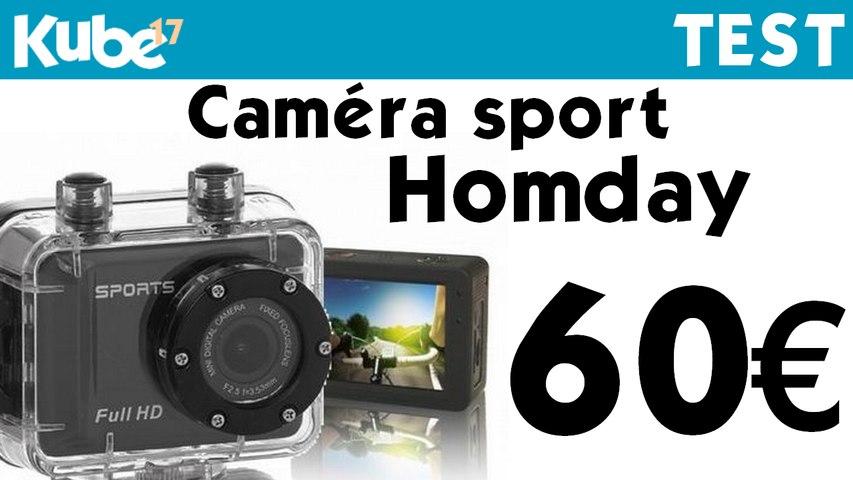 Test de la caméra HomDay 349640 - Kube17