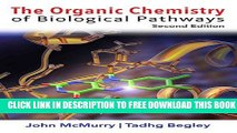 New Book The Organic Chemistry of Biological Pathways