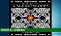 Popular Book Kaleidoscopes: Intricate Black Background Kaleidoscope Designs (Coloring books for