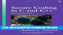 [PDF] Secure Coding in C and C++ (2nd Edition) (SEI Series in Software Engineering) Popular