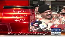D.G Rangers General Bilal Akbar Media Talk Over MQM Attack On ARY News Channel