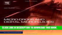 New Book Micro-Drops and Digital Microfluidics, Second Edition (Micro and Nano Technologies)