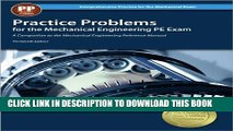 [Read PDF] Practice Problems for the Mechanical Engineering PE Exam, 13th Ed (Comprehensive