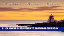 [PDF] Managerial Accounting 14th (fourteenth) Edition by Garrison, Ray, Noreen, Eric, Brewer,