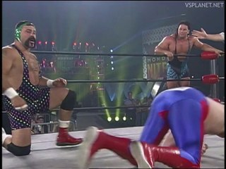 Steiner Brothers vs Dave Taylor and Robert Eaton, WCW Monday Nitro 26.08.1996