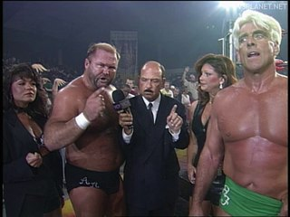 Ric Flair and Arn Anderson interview, WCW Monday Nitro 26.08.1996