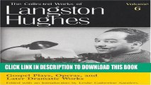 Collection Book Gospel Plays, Operas, and Later Dramatic Works (Collected Works of Langston