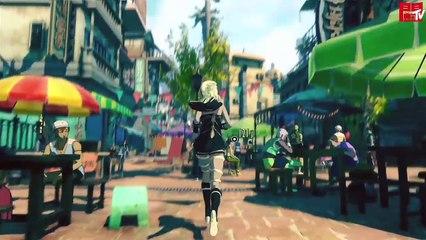 Interview et Gameplay Gravity Rush 2 de Gravity Rush 2