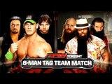 John Cena, Dean Ambrose and Roman Reigns Vs Seth Rollins, Wyatt Family