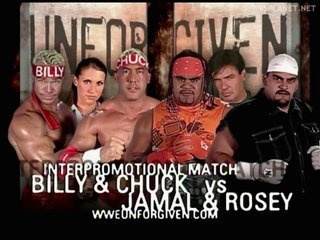 Billy and Chuck vs 3-Minute Warning, WWE Unforgiven 2002