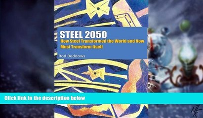 Big Deals  Steel 2050: How Steel Transformed the World and Now Must Transform Itself  Free Full