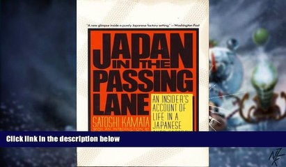 Big Deals  Japan in the Passing Lane  Best Seller Books Best Seller