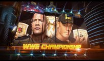 WWE Wrestlemania 29 The Rock Vs John Cena WWE Championship