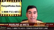 New York Mets vs. Miami Marlins Free Pick Prediction MLB Baseball Odds Series Preview