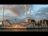 Swedish Theme Park at Sunset Looks as Perfect as Computer-Generated Scenes
