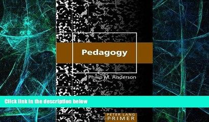 Big Deals  Pedagogy Primer (Peter Lang Primer)  Best Seller Books Best Seller