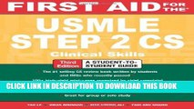 Collection Book First Aid for the USMLE Step 2 CS, Third Edition (First Aid USMLE)