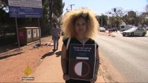 South Africa: Black students protest 'racist' hair rules