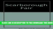 New Book Scarborough Fair