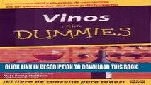 [PDF] Vino Para Dummies/wine For Dummies (Spanish Edition) Popular Colection