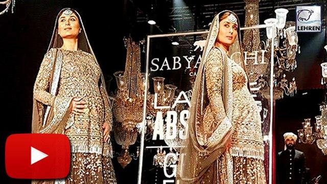 Pregnant Kareena Walks The Ramp At Lakme Fashion Week