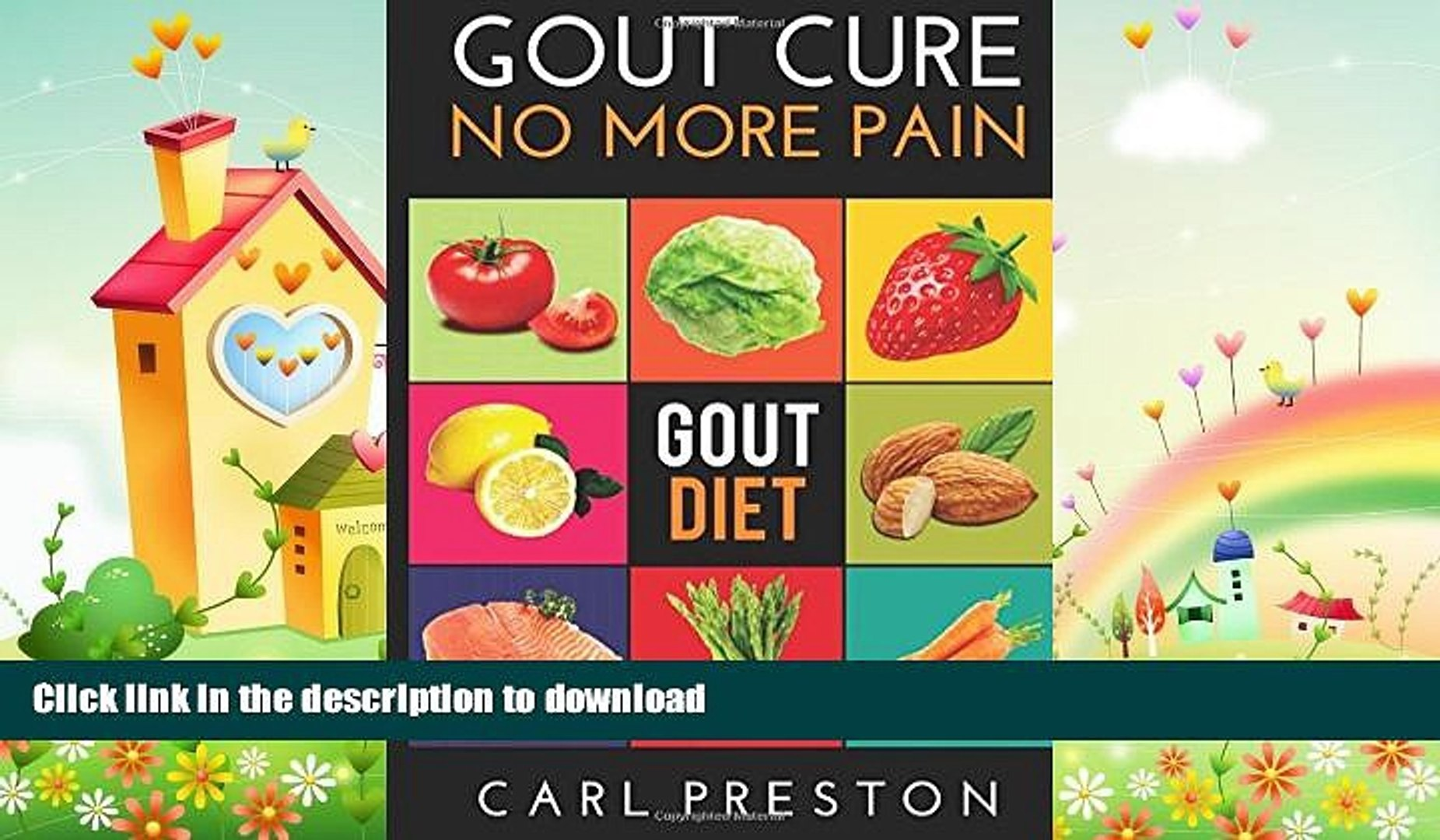 FAVORITE BOOK Gout Diet: The Anti-Inflammatory Gout Diet: 50+ Gout Cookbook  Videos and Gout
