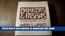 Read Bankers and Pashas: International Finance and Economic Imperialism in Egypt  Ebook Free