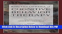 [Read] Encyclopedia of Cognitive Behavior Therapy (Social Indicators Research Series) Ebook Free