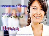 Call Hotmail Support Number 1-877-776-6261 To Keep Hotmail Secure