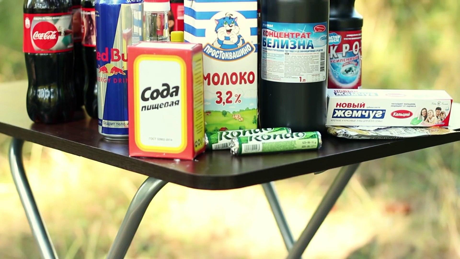 15 CRAZY COCA-COLA EXPERIMENTS! 15 من التجارب مجنون كوكا كولا! 15 CRAZY COCA-COLA實驗!