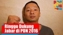 Dukungan Aktor Indonesia Ringgo Agus Rahman Untuk Kontingen Jawa Barat di PON 2016