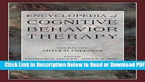 [Get] Encyclopedia of Cognitive Behavior Therapy (Social Indicators Research Series) Free Online