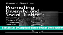 [Get] Promoting Diversity and Social Justice: Educating People from Privileged Groups (Winter