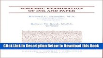 [Reads] Forensic Examination of Ink and Paper Online Ebook