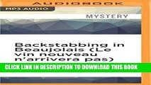 [PDF] Backstabbing in Beaujolais (Le vin nouveau n arrivera pas) (Winemaker Detective) Popular