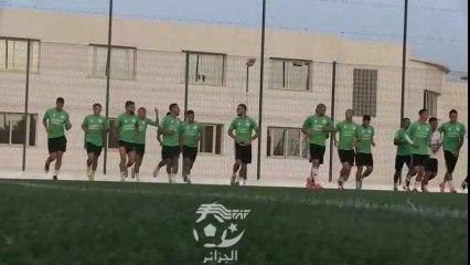 Algérie – Lesotho entrainement de l'EN