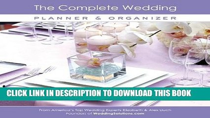 [Download] The Complete Wedding Planner   Organizer Paperback Free