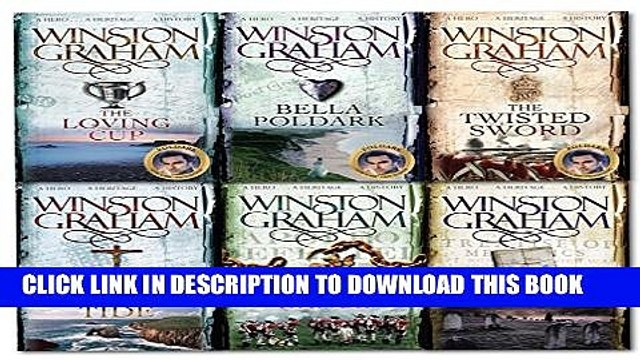 Collection Book Winston Graham Poldark Series 6 Books Collection Set (Poldark books 7-12) (The