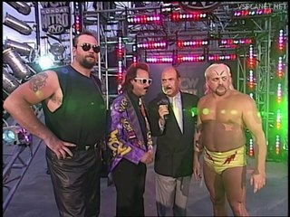 Dungeon of Doom, Interview at WCW Monday Nitro 15.07.1996