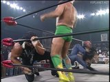 NWO assaults Sting, Luger and Horsemen, WCW Monday Nitro 26.08.1996