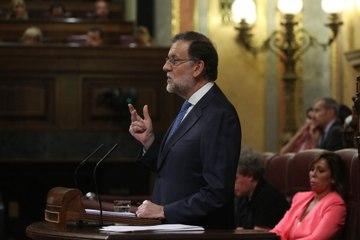"""#investiduraRajoy: Rajoy: """"España necesita un Gobierno eficaz con urgencia y no existe alternativa viable"""""""