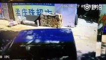 Footage Shows How Child Is Snatched Away From Back of Bike