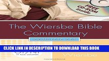 New Book Wiersbe Bible Commentary 2 Vol Set W / CD Rom